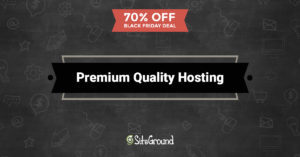 siteground black Friday 2016 hosting deals